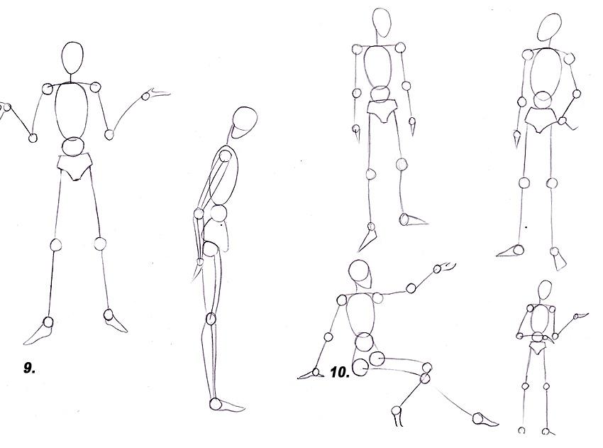 Как рисовать аниме: рисуем