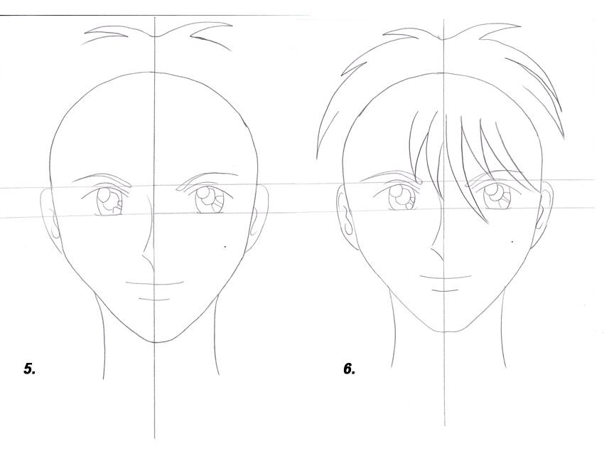 Как рисовать аниме мастер классы