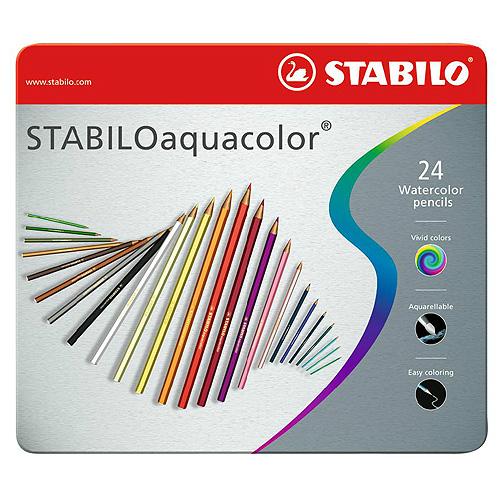 Акварельные цветные карандаши STABILO Aquacolor