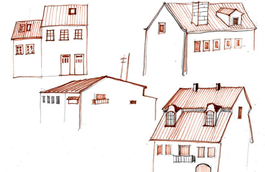 Дом мастер класс рисунки