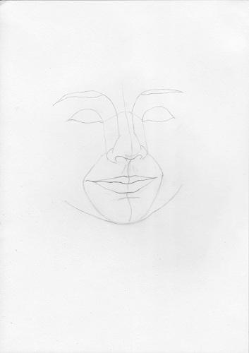 Рисуем портрет мальчика цветными карандашами STABILO Original