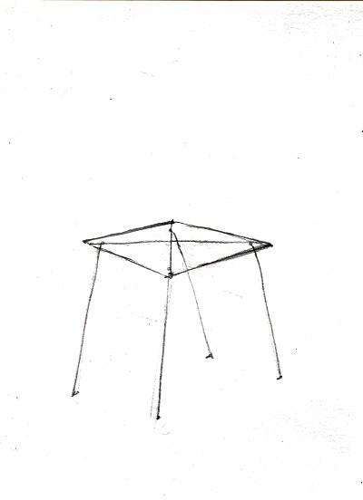 На листе бумаги для рисования