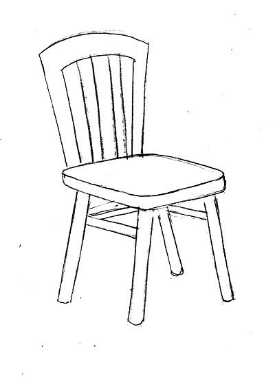 рисунок стульчика для детей