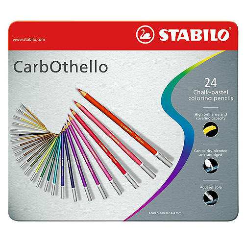 Цветные карандаши STABILO CarbOthello