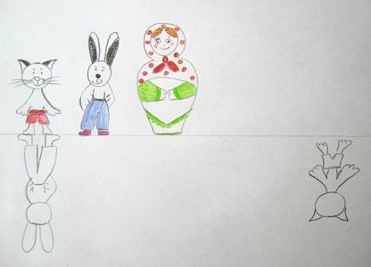 Картинки раскраски зайчика