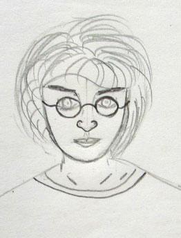 Как нарисовать гарри поттер поэтапно 4