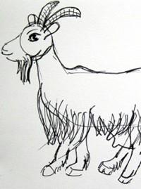 Рисунок жеребенок для детей