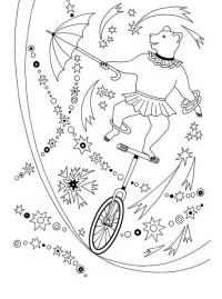 раскраски Stabilo цирк Stabilo4kids Ru