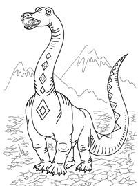 "Раскраски Stabilo: Раскраски ""Динозавры"" Stabilo4kids.ru"
