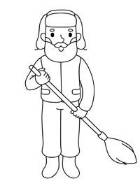 раскраска для детей 3 4 5 лет бесплатно профессии