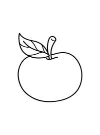 Раскраски фрукты и овощи для детей. Stabilo4kids.ru